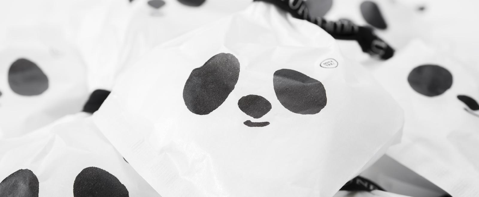 黒船どらやき パンダパッケージ 商品写真