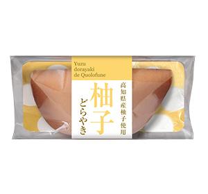 柚子どらやき パッケージ