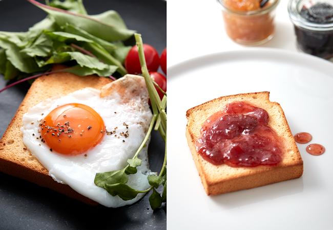 パン食べ方イメージ